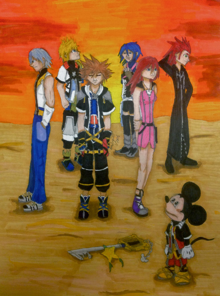 KH: Light, Bright and Brief by brawlingwolf