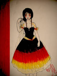 The Hunger Games: Interview Dress by Ale-L