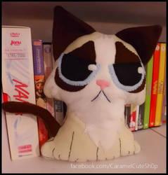 Chibi Grumpy Cat Plushie