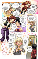 TAMMI 2 Comic Page Preview by MTJpub