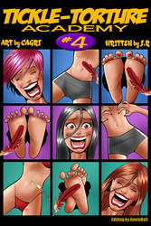 Tickle Torture Academy 4 Cover by MTJpub