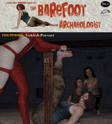 Tklsh Advs of The Barefoot Archaeologist #1 Cover by MTJpub