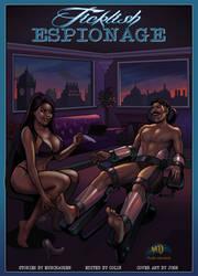 TICKLISH ESPIONAGE Cover by MTJpub