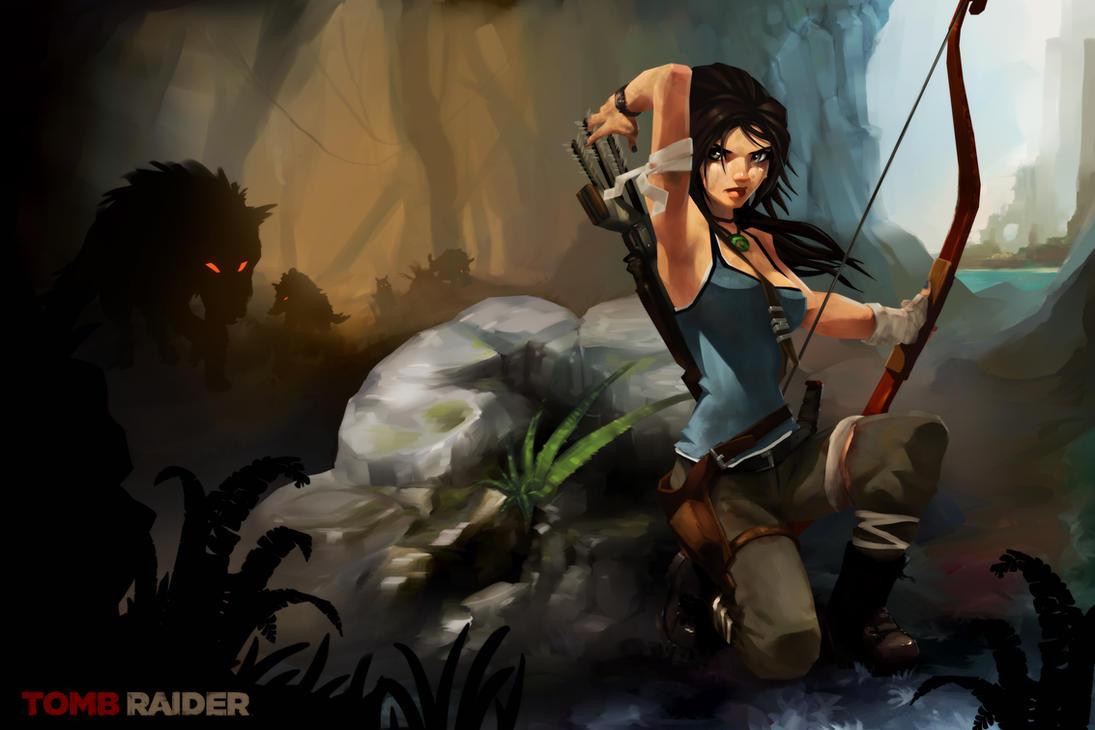 Lara Croft - Survive by RodneyOlmos