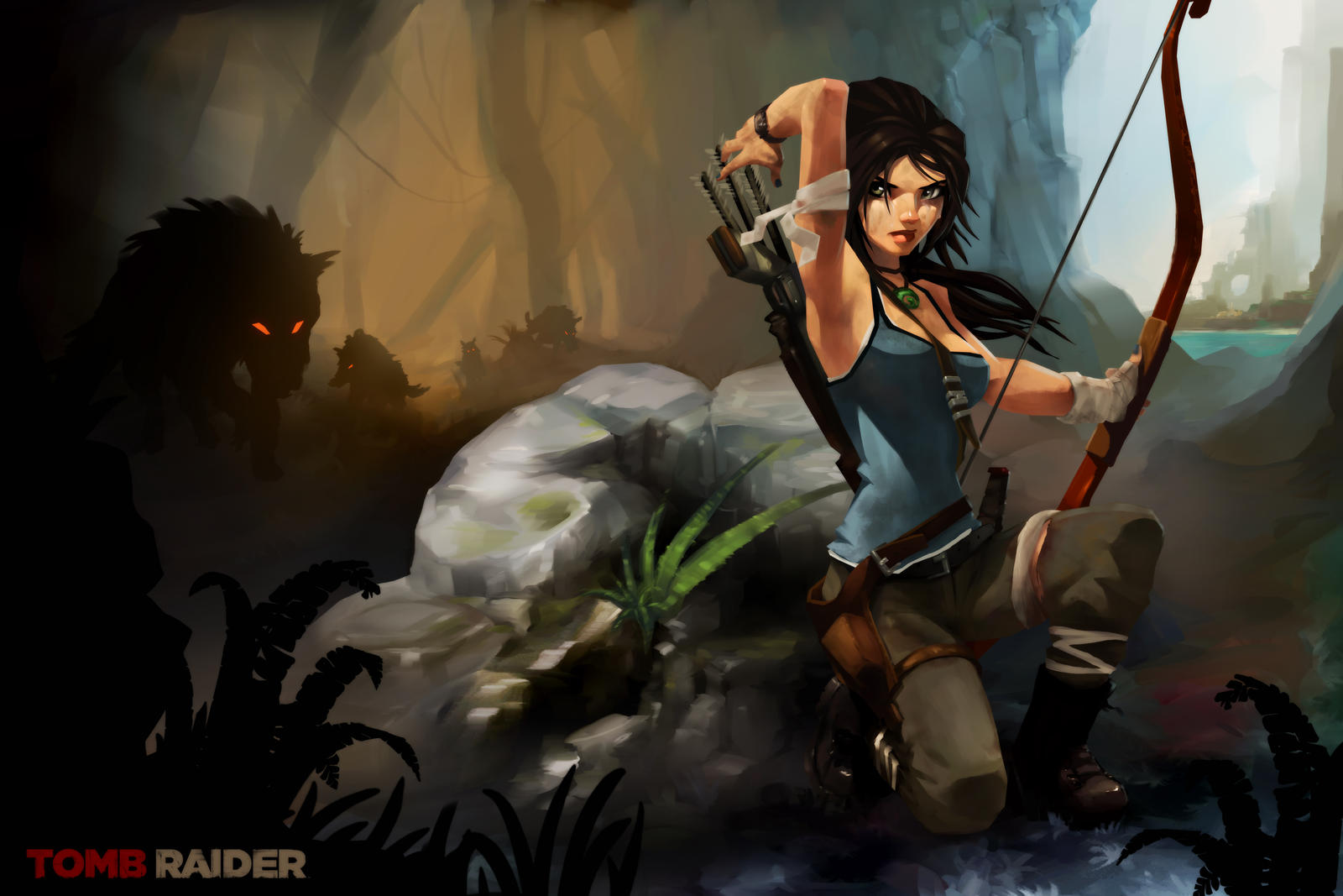 Lara Croft - Survive by RodneyOlmos
