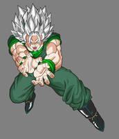 Zaiko, the Evil Goku by alessandelpho