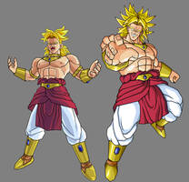 Broly, second coming by alessandelpho
