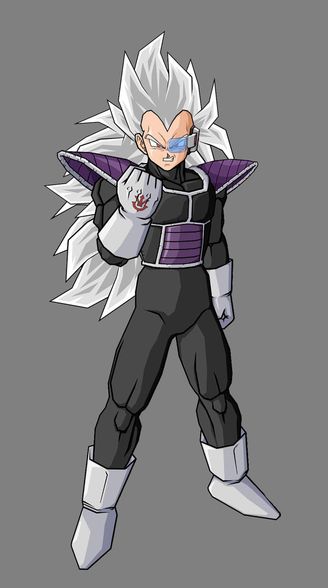 Kaddish, brother of Vegeta V3 by alessandelpho