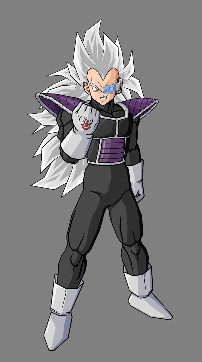 Kaddish, brother of Vegeta V3 by alessandelpho