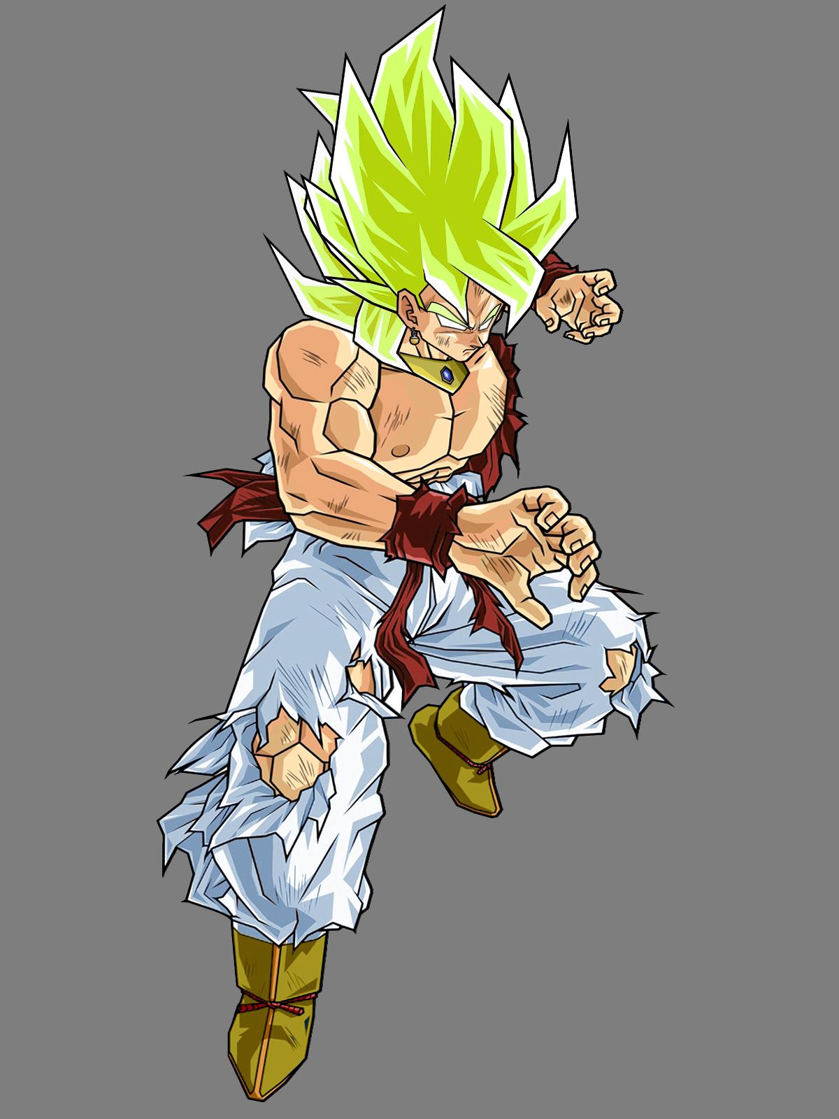 goku fusionado vegeta: