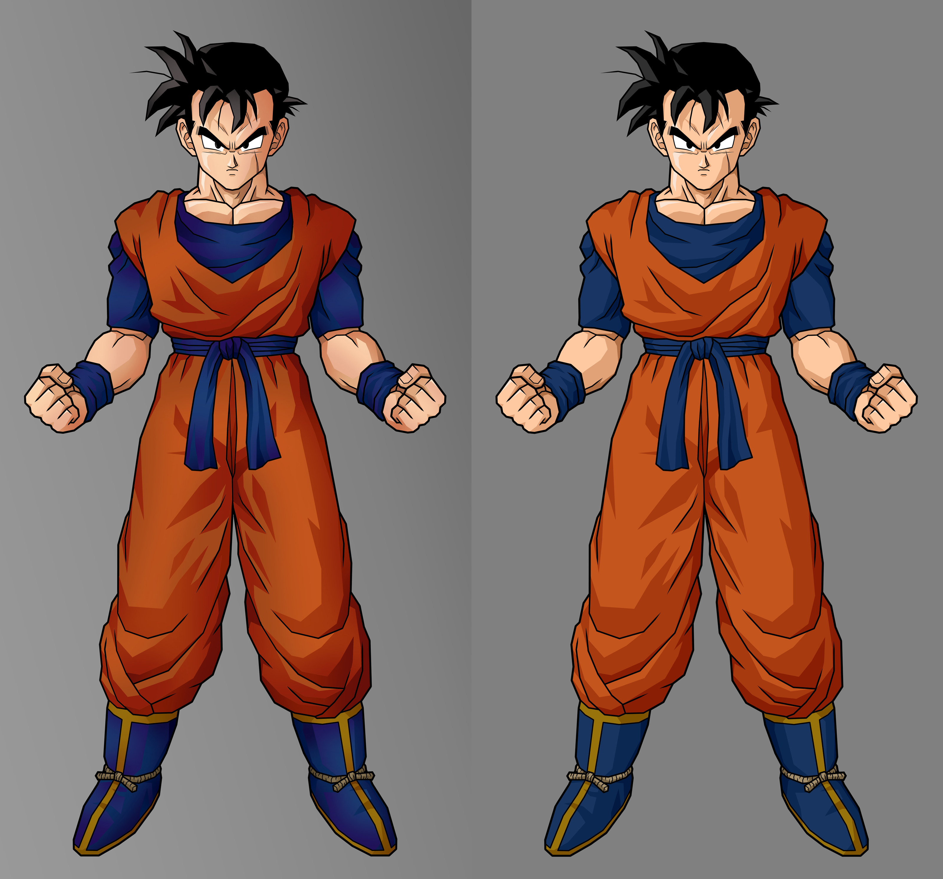 Future gohan, adv cell shading by alessandelpho