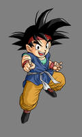 Goku jr. by alessandelpho