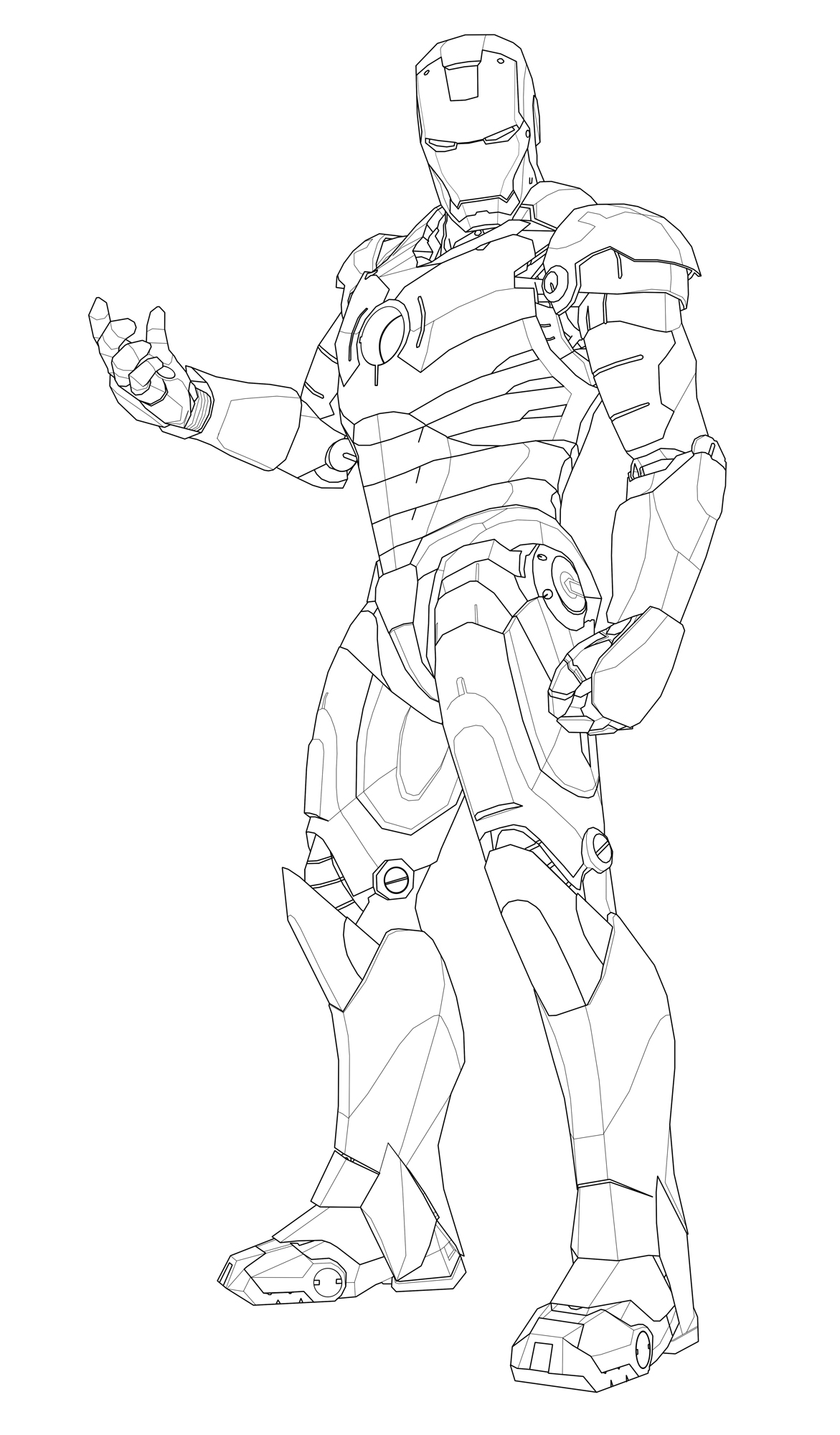 Mobileiron Man 3 Mark 39 Coloring Sheets Coloring Pages