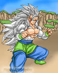 Goku ssj5, V1