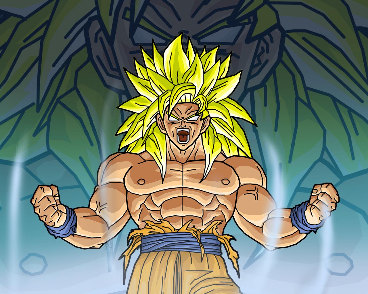 Goku, Legendary ssj by alessandelpho