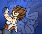 Young King Vegeta wallpaper