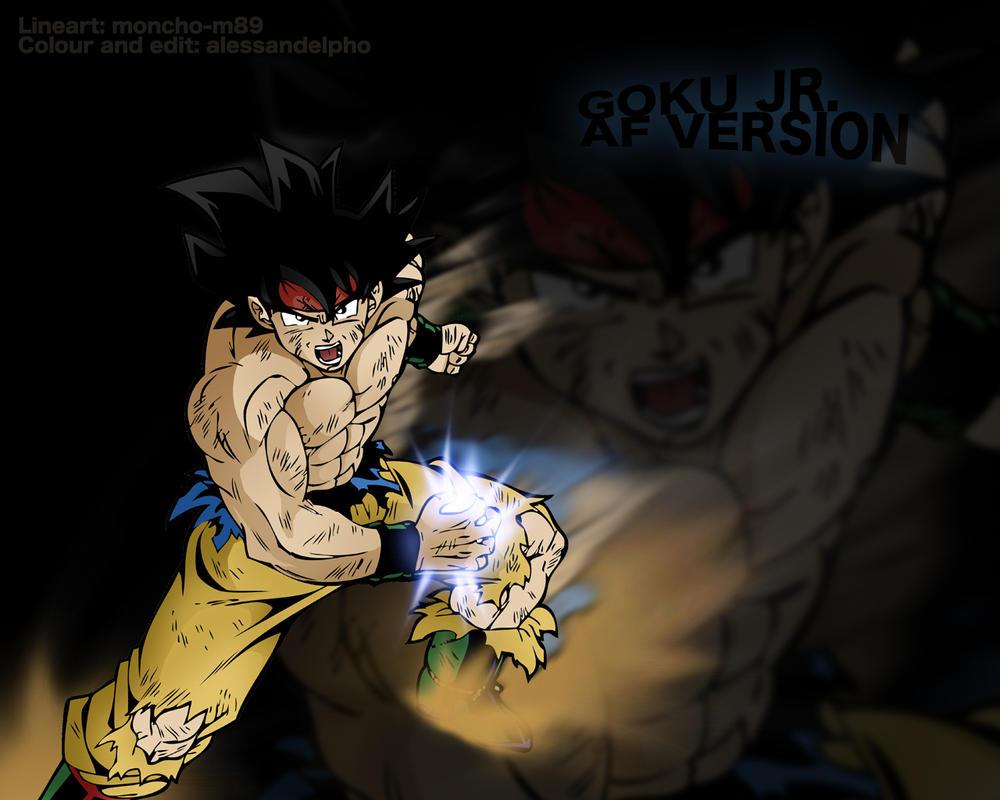 Goku Jr.  Af version