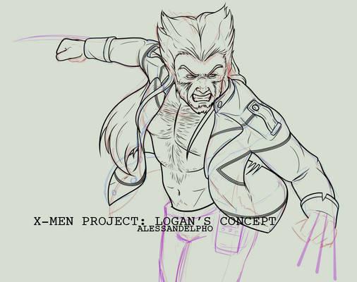 X-Men Project, Logan Concept