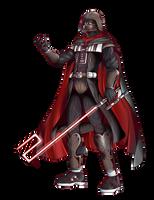 Darth Vader, Kingdom Hearts by alessandelpho
