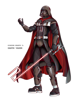 Darth Vader, Kingdom Hearts