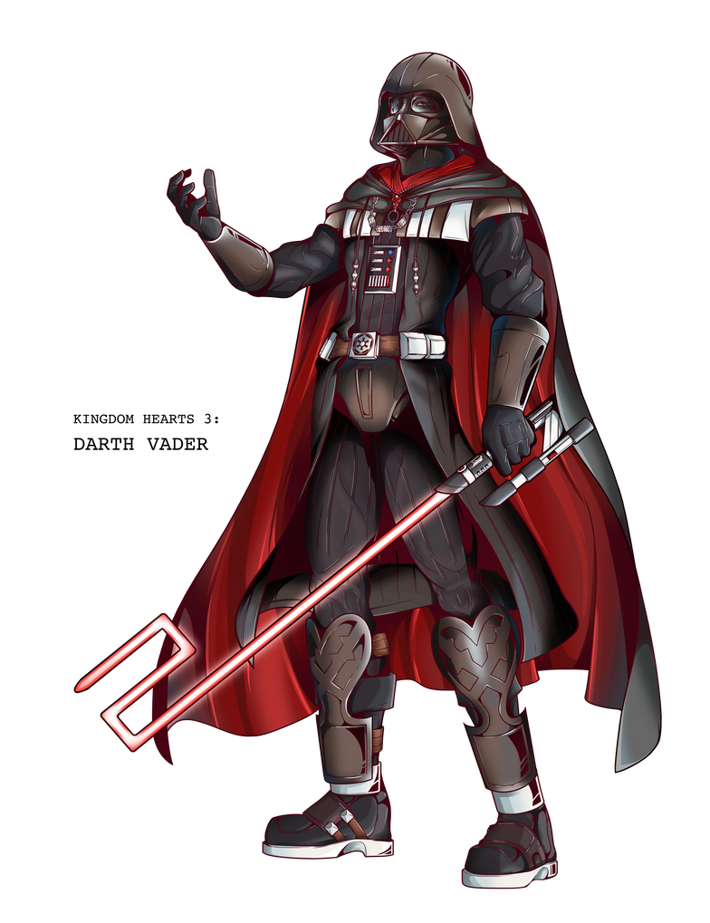 Darth Vader, Ki... Xemnas Kingdom Hearts Chibi