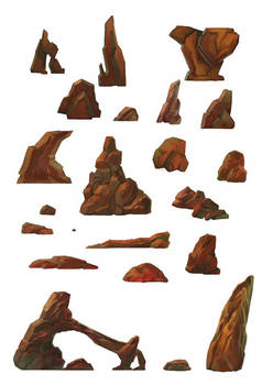 Rocks Design Sheet