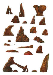 Rocks Design Sheet by Zaelari