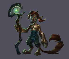Character Design # 002_Iteration by Zaelari