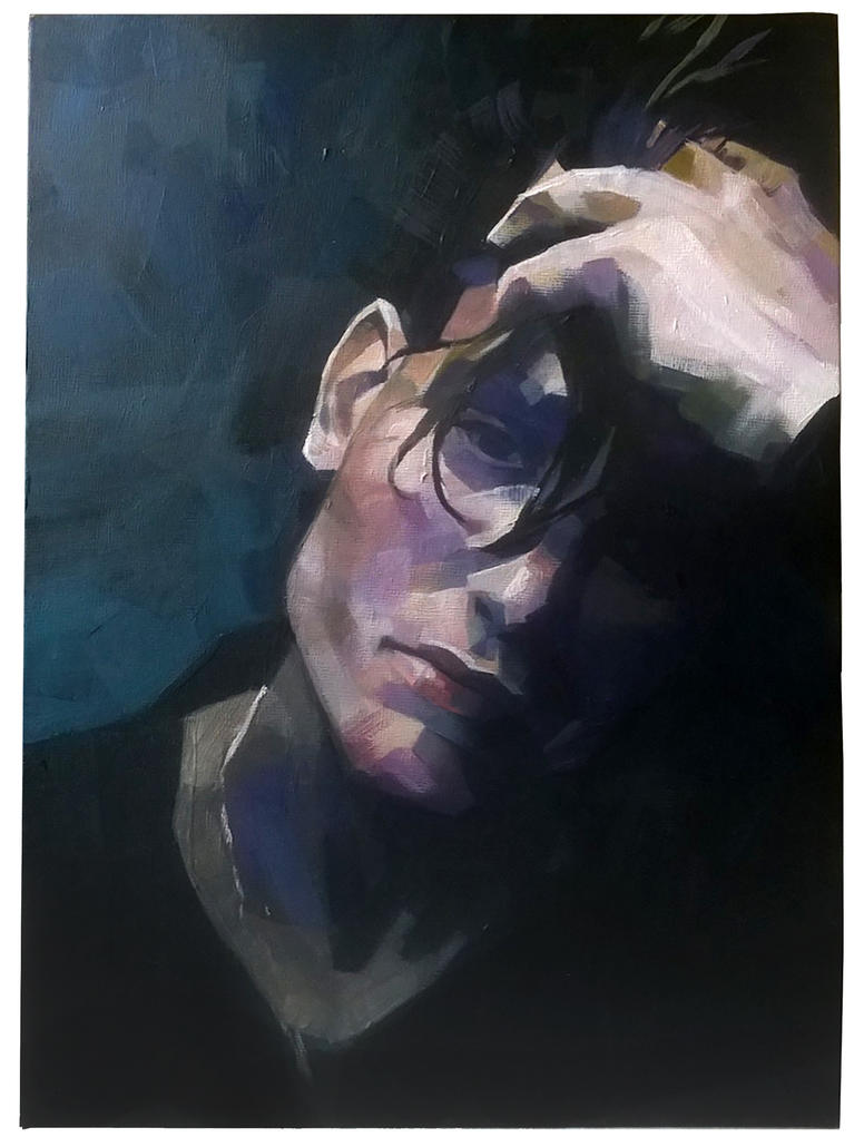 Frozen Mind Portrait by Zaelari