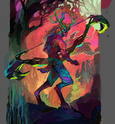 Deer Lord by Zaelari