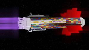 Interplanetary Freighter Amethyst