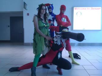 We Make a strange but lovely team by JokerDraco