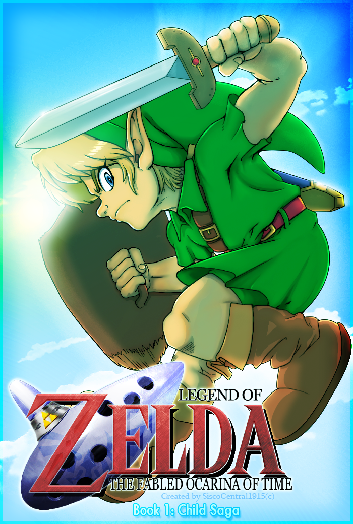 the fabled ocarina of time book 1 child saga by