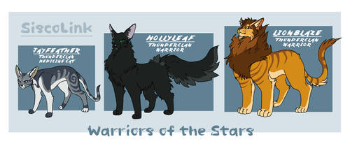 Warriors of The Stars: The Power of Three Trio