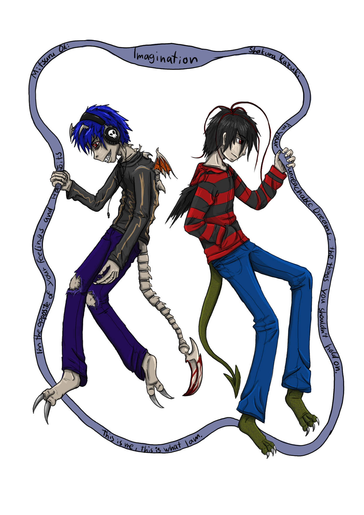 This Is what I am-Colored by Shakura-Kazuki