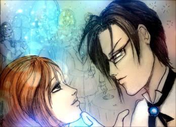 Claude and Hazel by LuciferArcadia