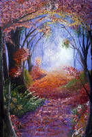 Enchanted path by LuciferArcadia