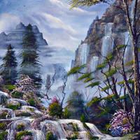 A dream garden by LuciferArcadia