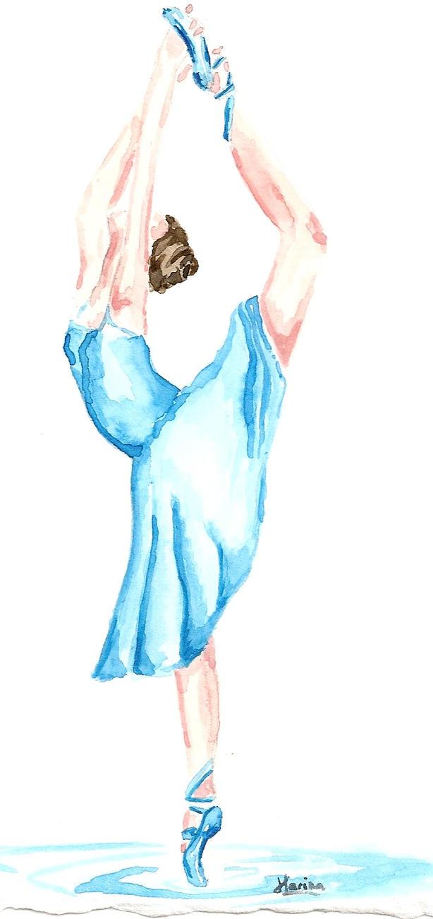 Comment dessiner une danseuse classique - Danseuse dessin ...