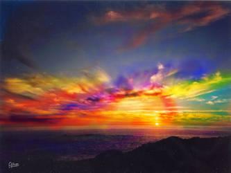 Durban Sunset by gianttwig