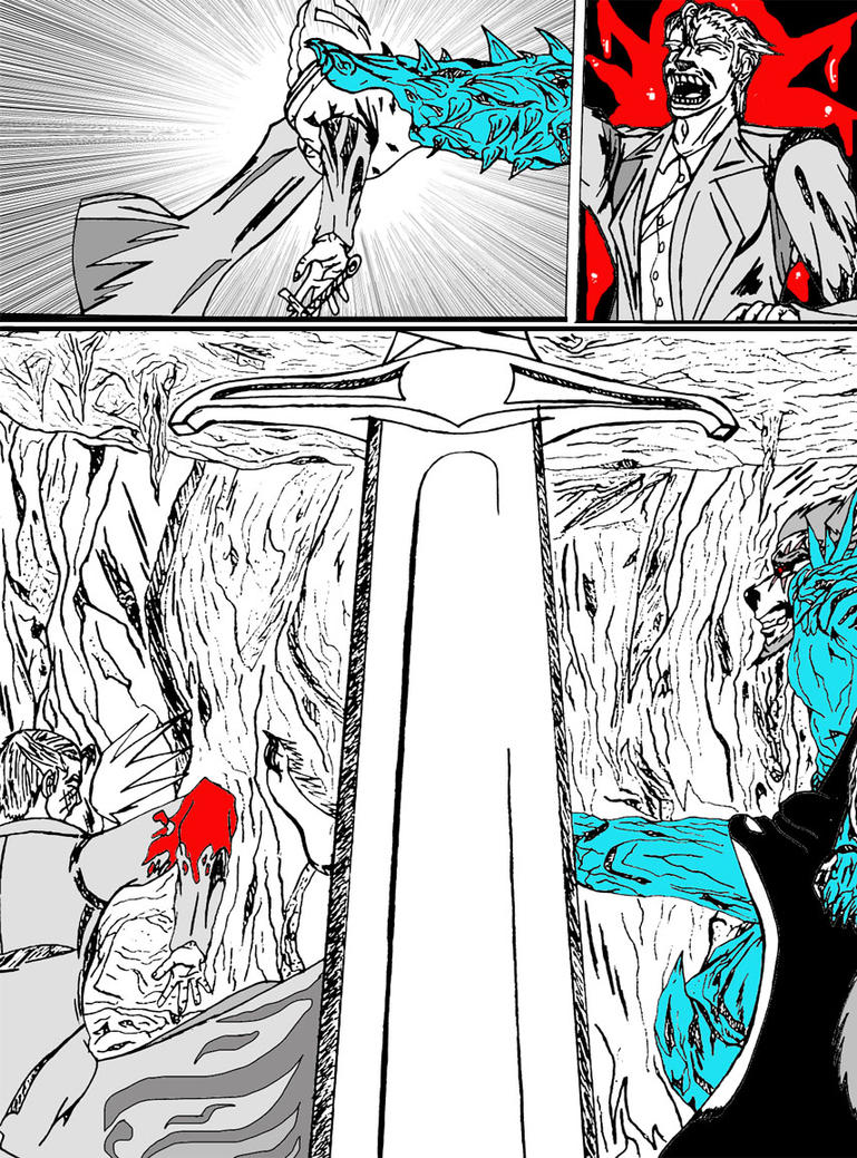 Chronicle 2: Page 91 by Dark-Fenrir-X