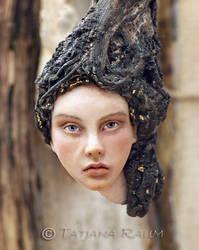 Wooden spirit Aude by chopoli