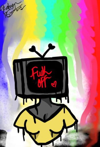 Tv Head  by ForsekanFreak