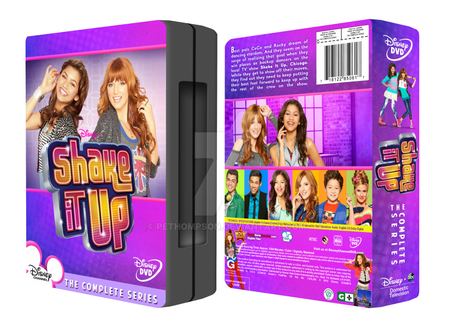 Shake It Up: The Complete Series by pethompson on DeviantArt