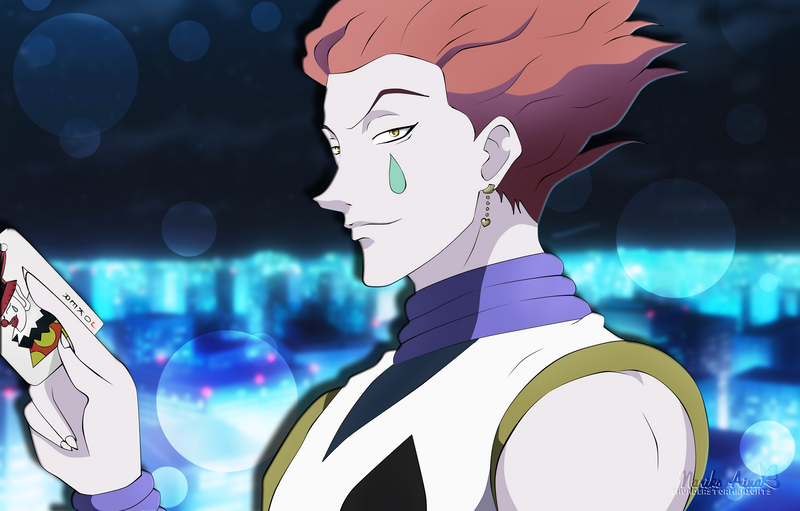 hunter x hunter wallpaper hisoka