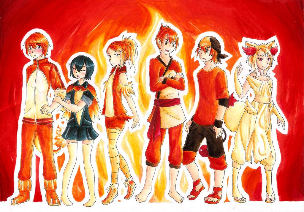 Fire Starter Gijinka by RoCkBaT