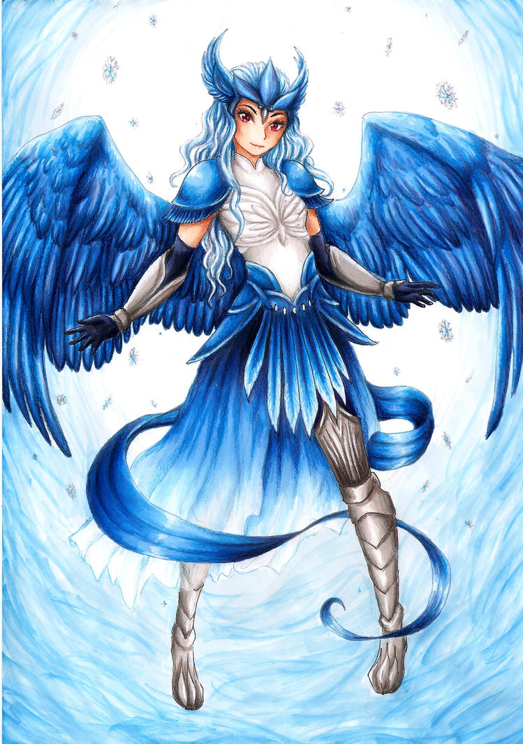 Articuno Gijinka by RoCkBaT on DeviantArt