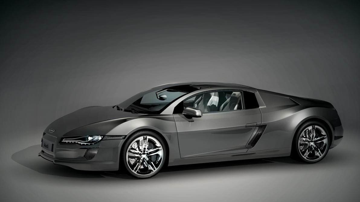 Audi Concept Car By Kaleblechowski On Deviantart
