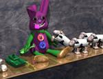 Drunken Bunny Toy