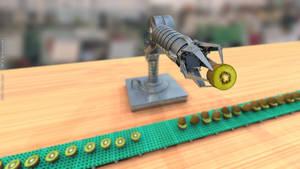 K.R.A. - Kiwi Robot Arm